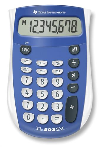 3243480009690 - Rekenmachine Texas Instruments TI-503sv