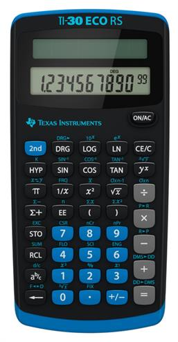 3243480009942 - Rekenmachine Texas Instruments TI-30 eco rs(olar)