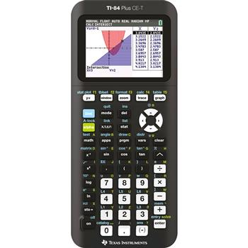 3243480106849 - Rekenmachine Texas Instruments TI-84 plus CE-T (Python Ed.)