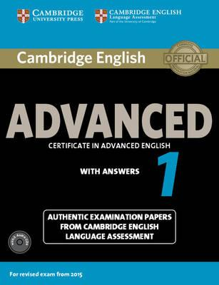 9781107654969 - Cambridge english adv 1 for rev exam from 2015 stud bk pack