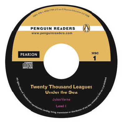 9781405877992 - Twenty thousand leagues under the sea (+ audio-cd)