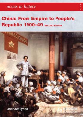 9781444110128 - China: From empire to people's republic 1900-49
