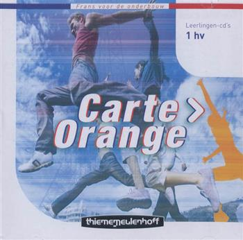 9789006181128 - Carte orange 1hv twee leerlingen-cd s