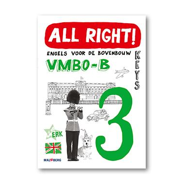 9789034576798 - All right! 3 vmbo-b keys