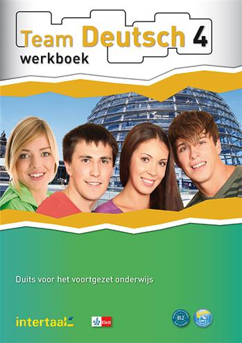 9789460300820 - Team deutsch 4 (Nederlandse editie) werkboek (+ audio-cd s)